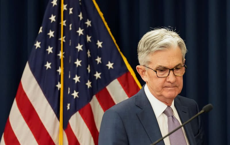 Fed's Powell stresses uncertainty, challenges facing U.S. economy