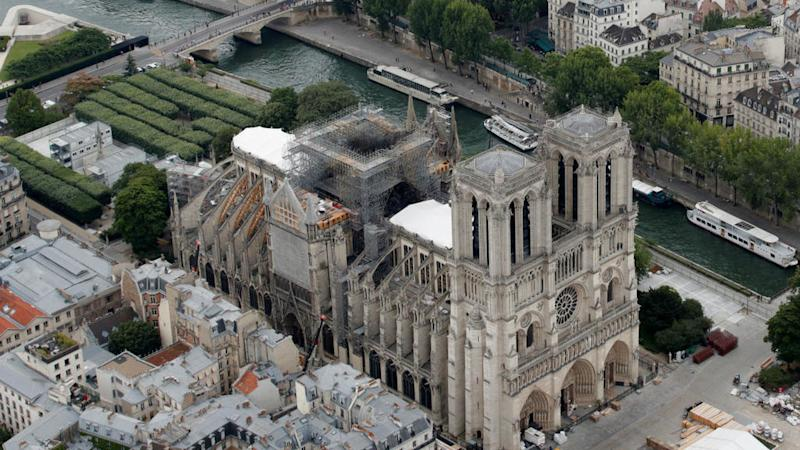 French lawmakers approve controversial bill to rebuild Notre-Dame