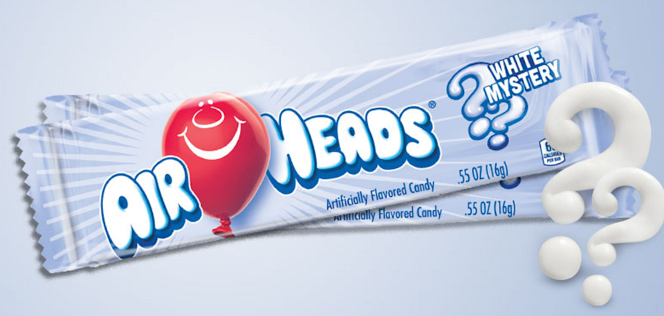<p><strong>Airheads</strong></p><p>Candy-fanatics have been chewing on these long pieces of taffy-like sweets since '86 and today they are offered in a wide variety of flavor (grape is underrated, I swear.) </p>