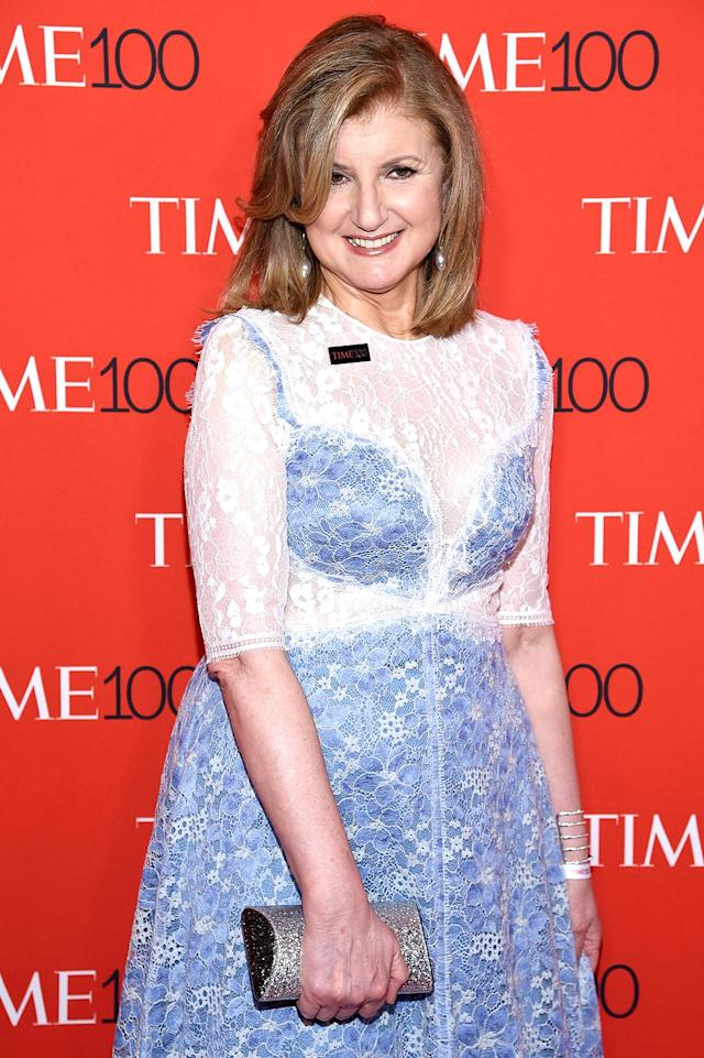 """<p>Donald Trump decided to insert himself in… Arianna Huffington's divorce? He tweeted, """"@ariannahuff is unattractive both inside and out. I fully understand why her former husband left her for a man- he made a good decision."""" Huffington has kept her comments about the president strictly about his job… with a few digs thrown in. """"I promise you if [Trump] got eight hours sleep and did not tweet in the middle of the night, the next four years would be infinitely better for the world,"""" <a href=""""http://www.cnbc.com/2017/01/17/donald-trump-is-poster-child-of-sleep-deprivation-arianna-huffington.html"""" rel=""""nofollow noopener"""" target=""""_blank"""" data-ylk=""""slk:she told CNBC"""" class=""""link rapid-noclick-resp"""">she told CNBC</a>. """"So I highly recommend that his advisers take the phone away."""" (Photo by Dimitrios Kambouris/Getty Images for TIME) </p>"""
