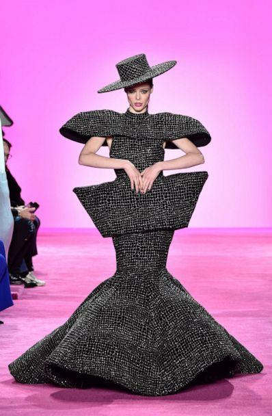 PHOTO: Coco Rocha walks the runway during Christian Siriano show at New York Fashion Week at Spring Studios on Feb. 6, 2020 in New York City. (Peter White/WireImage/Getty Images)
