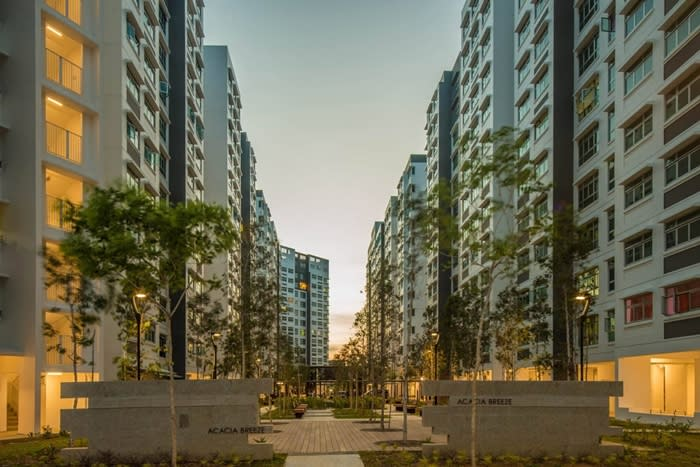Acacia Breeze is one of the projects that will hit its hdb mop in 2020