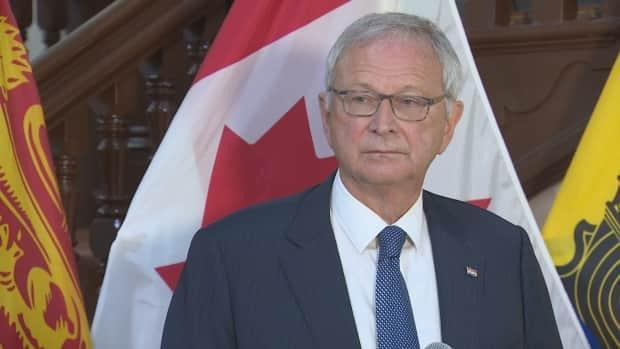 Premier Blaine Higgs did not sign the affordable daycare deal with the federal government before the election but says he expects an agreement soon. (CBC - image credit)