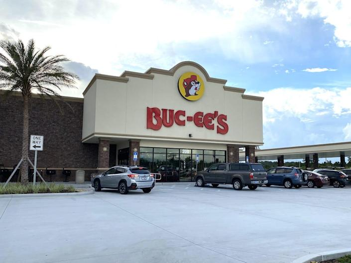 A view of a Buc-ee's store in St. Augustine, Florida.