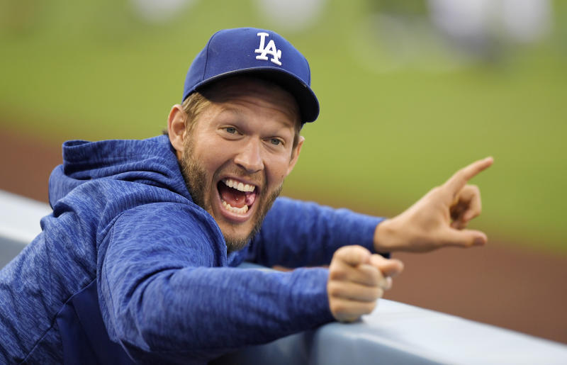 Clayton Kershaw will return to the Dodgers this week and ... they're not doing so bad these days. (AP)