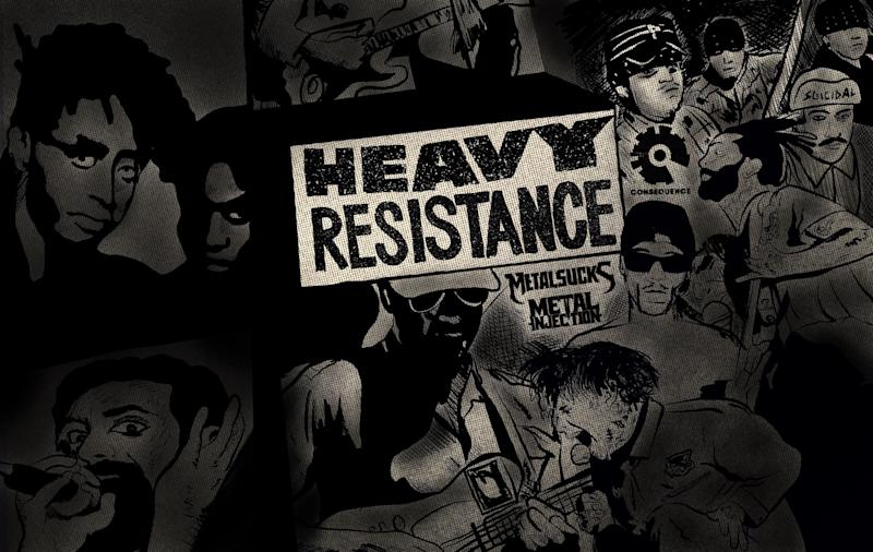 Heavy Resistance: A Playlist of Hard-Rocking Protest Songs