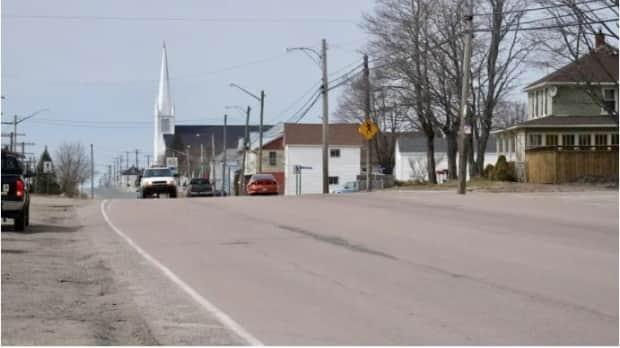 The Village of Rogersville is a predominantly francophone community between Miramichi and Moncton that has welcomed some anglophone newcomers during the pandemic. (Guy LeBlanc/Radio-Canada - image credit)