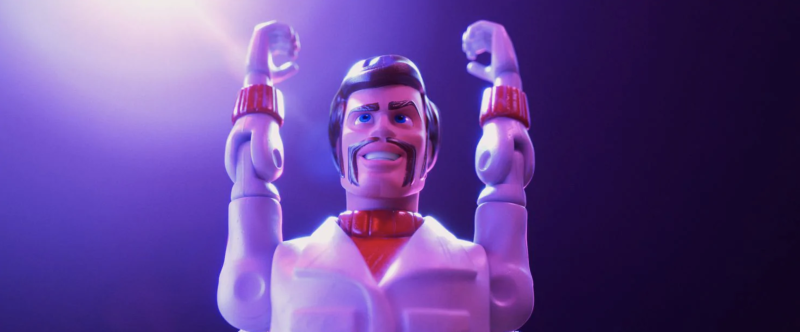 Keanu Reeves in Toy Story 4 (credit: Pixar)