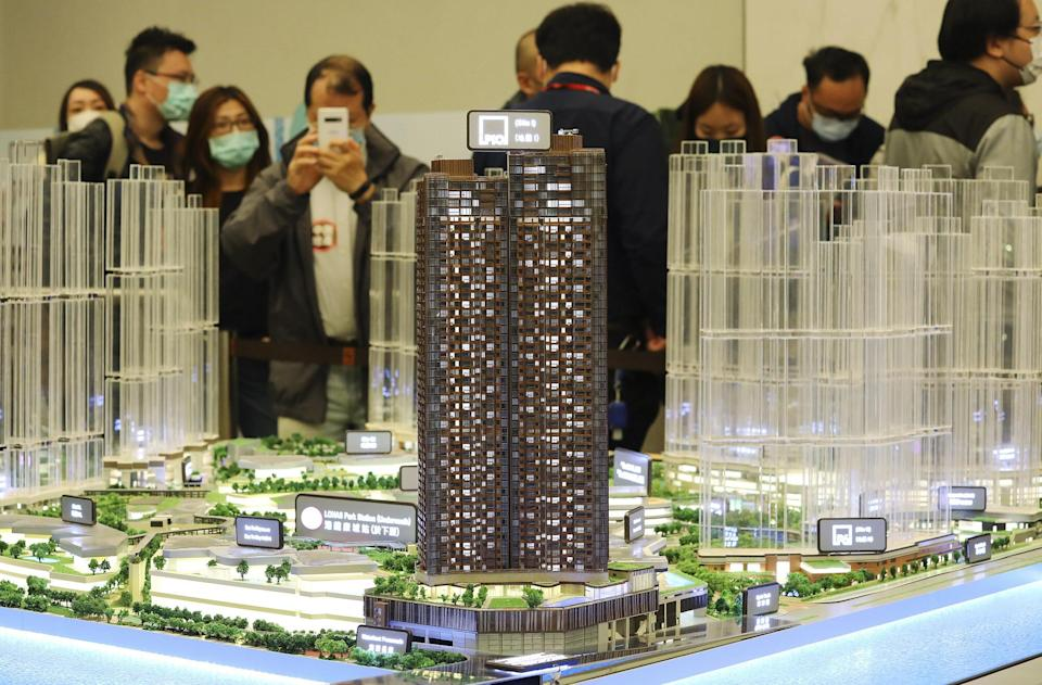 The average size of new private flats has been on a downward trend since 2010, according to the think tank. Photo: Dickson Lee