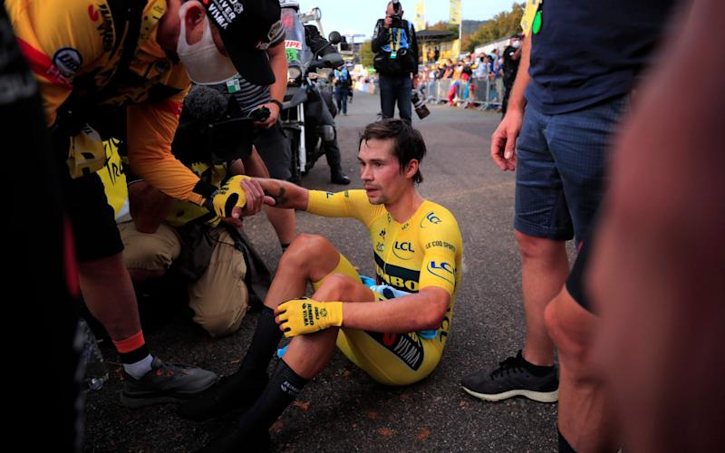 Primoz Roglic - GETTY IMAGES