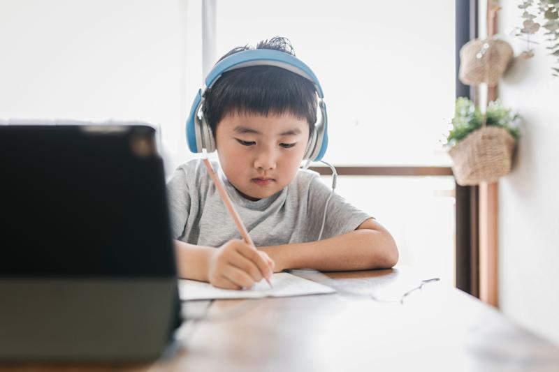 The kids will be spending more time at home, so you might go ahead and update their space so that they'll have plenty of room to play and finish up their homework. (Photo: kohei_hara via Getty Images)