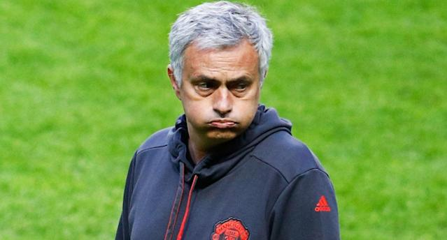 Mourinho's United must win to regain entry to the Champions League. (Reuters)
