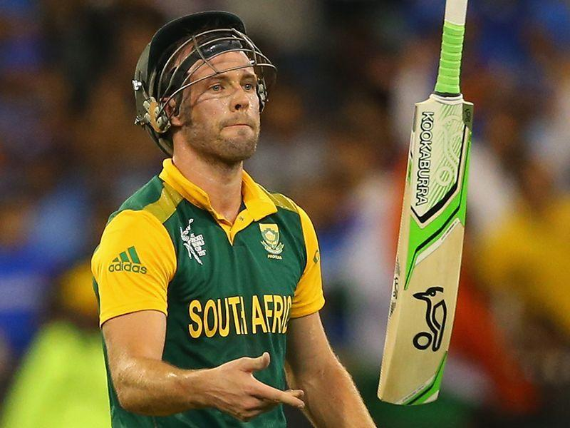 AB de Villiers, who helped the South African team reach the 2015 World Cup semi-final bid farewell to the international cricket fraternity