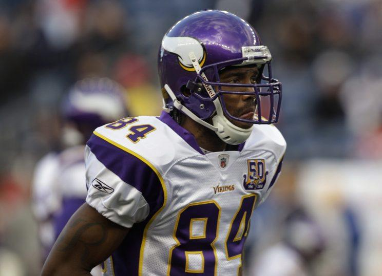 Randy Moss was elected to the Vikings' Ring of Honor. (AP)