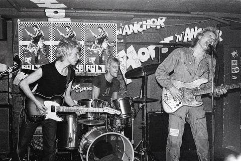 """With Andy Summers and Stewart Copeland of the Police in 1978. The band's 2007 reunion is unlikely to be repeated. """"It closed the circle,"""" Sting says."""