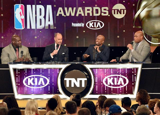 Charles Barkley made a bold NBA Finals prediction on Monday night. (Photo by Chris Pizzello/Invision/AP)