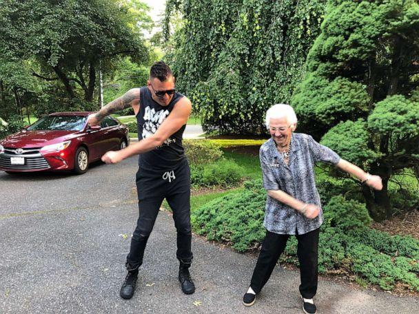 PHOTO: Grandmother Shirley Goodman still loves to break out in dance at age 96. (Ethan Cohen)