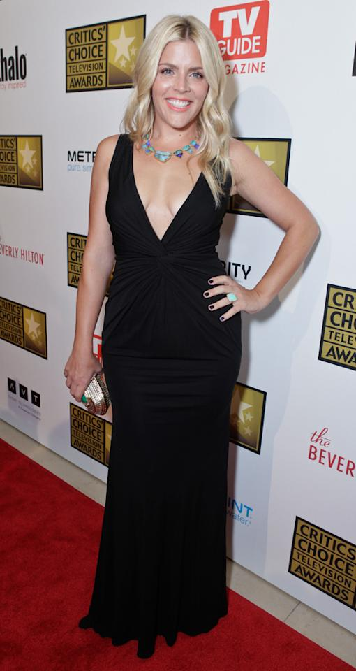 Busy Philipps attends the 2012 Critics' Choice Television Awards at The Beverly Hilton Hotel on June 18, 2012 in Beverly Hills, California.