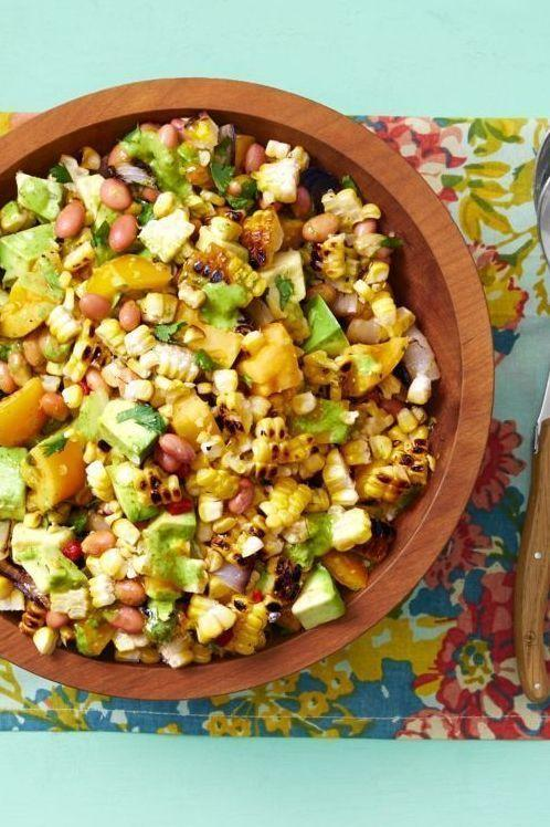 """<p>Corn is a must at any backyard gathering. Slice the grilled kernels off the cob, top with a bright cilantro vinaigrette, and you've got yourself the ultimate summery salad.</p><p><strong><a href=""""https://thepioneerwoman.com/food-cooking/recipes/a32252731/grilled-corn-salad-with-cilantro-vinaigrette/"""" rel=""""nofollow noopener"""" target=""""_blank"""" data-ylk=""""slk:Get the recipe"""" class=""""link rapid-noclick-resp"""">Get the recipe</a>.</strong></p><p><a class=""""link rapid-noclick-resp"""" href=""""https://go.redirectingat.com?id=74968X1596630&url=https%3A%2F%2Fwww.walmart.com%2Fbrowse%2Fhome%2Fserveware%2Fthe-pioneer-woman%2F4044_623679_639999_2347672%2FYnJhbmQ6VGhlIFBpb25lZXIgV29tYW4ie&sref=https%3A%2F%2Fwww.thepioneerwoman.com%2Ffood-cooking%2Fmeals-menus%2Fg32188535%2Fbest-grilling-recipes%2F"""" rel=""""nofollow noopener"""" target=""""_blank"""" data-ylk=""""slk:SHOP SERVING BOWLS"""">SHOP SERVING BOWLS</a></p>"""