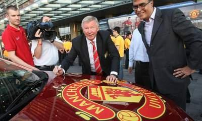 Manchester Utd Execs To Ring NY Opening Bell