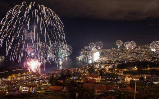 <p>Fireworks light up the sky above Funchal Bay, Madeira Island, to celebrate the arrival of the New Year on January 1, 2013. World cities from Sydney to Dubai rang in the New Year with a spectacular global wave of firework displays.</p>