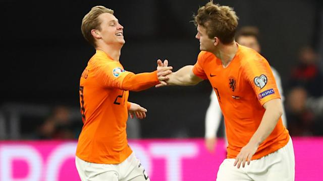 De Jong hoping for De Ligt reunion at Barcelona