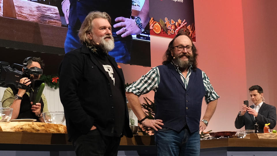 Si King and Dave Myers have worked together as the Hairy Bikers for almost 20 years. (MelMedia/GI Images)