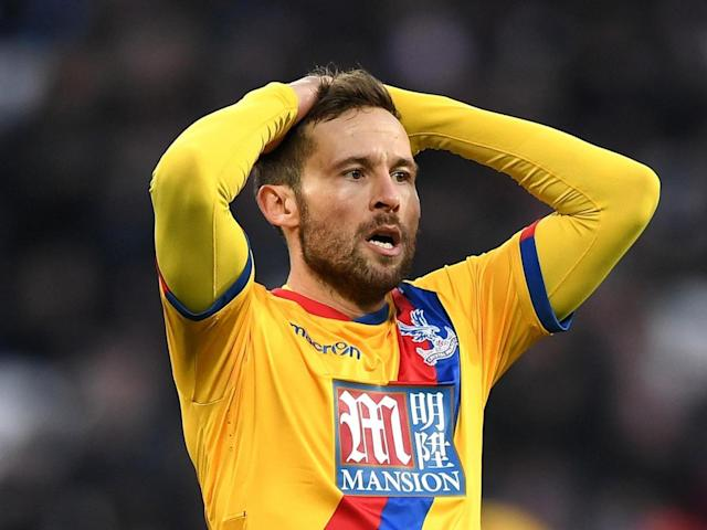 Yohan Cabaye is the latest Palace player to pick up an injury (Getty)