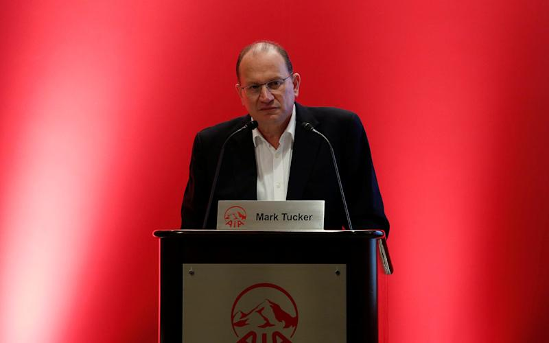 Mark Tucker was formerly chief executive of AIA Group - Reuters