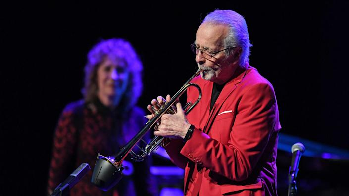 <ul> <li><strong>Net worth: </strong>$850 million</li> </ul> <p>Best known for his jazz band Herb Alpert & the Tijuana Brass, which rose to fame in the 1960s, Herb Alpert also co-founded A&M Records with trumpeter Jerry Moss. In 1989, Alpert and Moss sold A&M to Polygram Records for $500 million. Now 86, Alpert still performs in concert.</p> <p><small>Image Credits: Larry Marano / Shutterstock.com</small></p>
