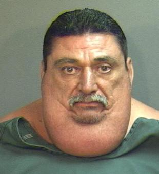 Obese Gangster Too Fat To Outrun Police