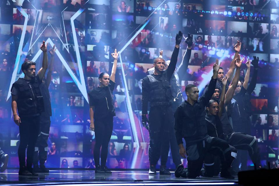 Diversity's dance saw over 24,000 complaints made to Ofcom, which won't be investigating BGT. (Syco/Thames)
