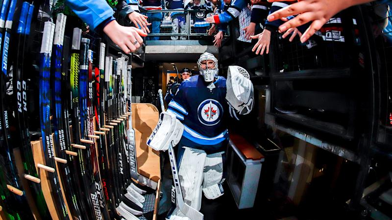 The Winnipeg Jets are in a free fall. (Photo by Darcy Finley/NHLI via Getty Images)