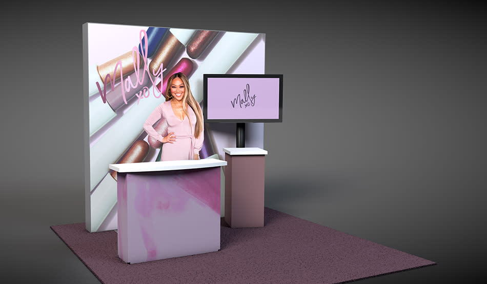 Celebrity makeup artist Mally Roncal is a QVC star. (Photo: QVC/HSN)