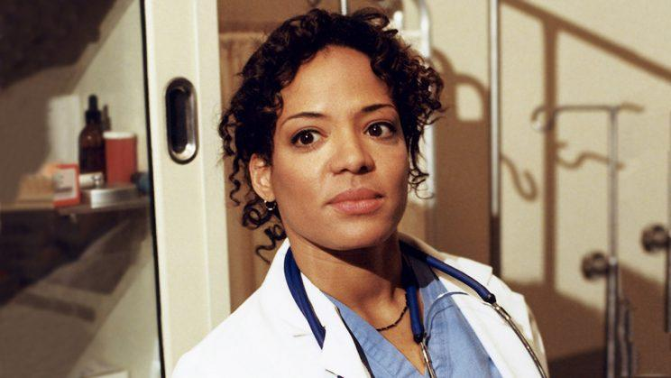 Lauren Velez as Dr. Gloria Nathan on HBO's OZ. (Credit: HBO)