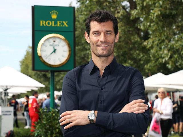 The former Red Bull driver believes Lewis Hamilton remains the man to beat on the grid (Rolex)