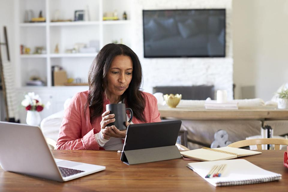 """<p>When it comes to choosing a career these days, there are so many more options that don't involve having to physically go into an office. Thanks to the internet, setting up a <a href=""""https://www.womansday.com/life/work-money/g934/best-work-at-home-jobs/"""" rel=""""nofollow noopener"""" target=""""_blank"""" data-ylk=""""slk:work from home"""" class=""""link rapid-noclick-resp"""">work from home</a> business has never been easier. You can work from the comfort of your own house — you can even work in your pajamas — and still have a thriving, high-paying career. And the flexibility that a <a href=""""https://www.womansday.com/life/work-money/g27573011/work-from-home-companies/"""" rel=""""nofollow noopener"""" target=""""_blank"""" data-ylk=""""slk:work from home"""" class=""""link rapid-noclick-resp"""">work from home</a> business offers is unbeatable, especially if you have little ones at home that you want to be able to take care of simultaneously. </p><p>So if a work from home business sounds like it could be the best fit for you, but you're not quite sure what career path you want to take, here are 11 awesome work from home business ideas that you definitely need to consider. With everything from creative business models to <a href=""""https://www.womansday.com/life/work-money/a27277325/how-to-become-a-virtual-assistant-so-you-can-work-from-home/"""" rel=""""nofollow noopener"""" target=""""_blank"""" data-ylk=""""slk:administrative jobs"""" class=""""link rapid-noclick-resp"""">administrative jobs</a>, there's bound to be something that piques your interest.</p>"""