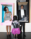 <p>The musical power couple dressed up as the ultimate toy power couple. Obviously, Blue Ivy joined in on the family fun and dressed up as baby Barbie in a bomb leather jacket. </p>