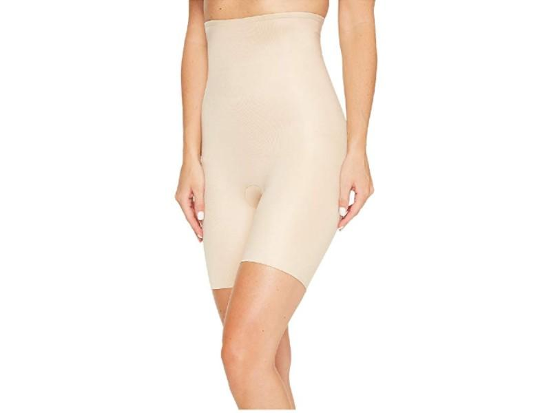 Spanx Power Conceal-Her High-Waisted Mid-Thigh Short. (Photo: Zappos)