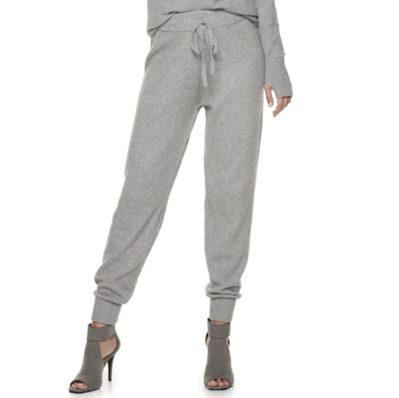 The perfect travel pants—pair with a bodysuit, your favorite sweater, or toughen them up with a leather jacket. (Photo: Kohl's)