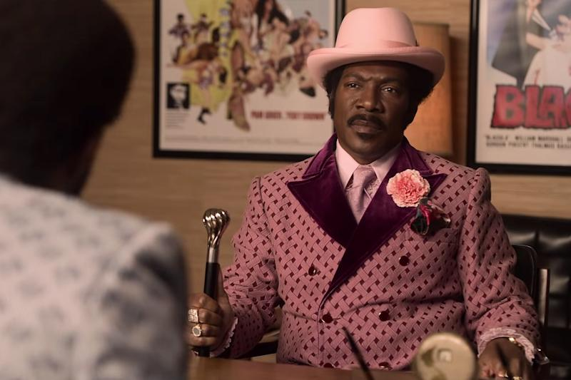 Eddie Murphy lights up the trailer for Netflix's 'Dolemite Is My Name'