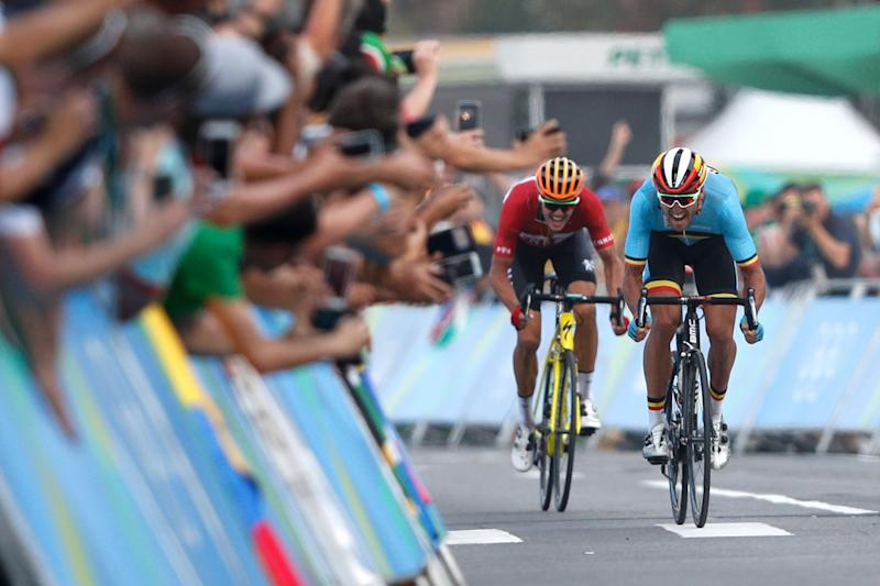 Cycling - Van Avermaet wins cycling road race gold d1e9f289f