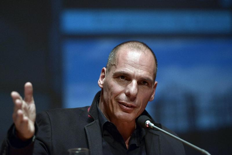 Yannis Varoufakis is an outspoken political economist who holds dual Greek and Australian nationality (AFP Photo/Louisa Gouliamaki)