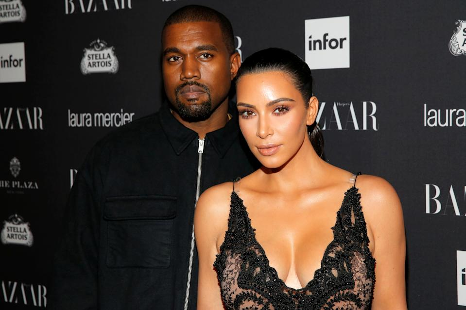 Kanye West and Kim Kardashian, here at New York Fashion Week in 2016, are on the brink of divorce.