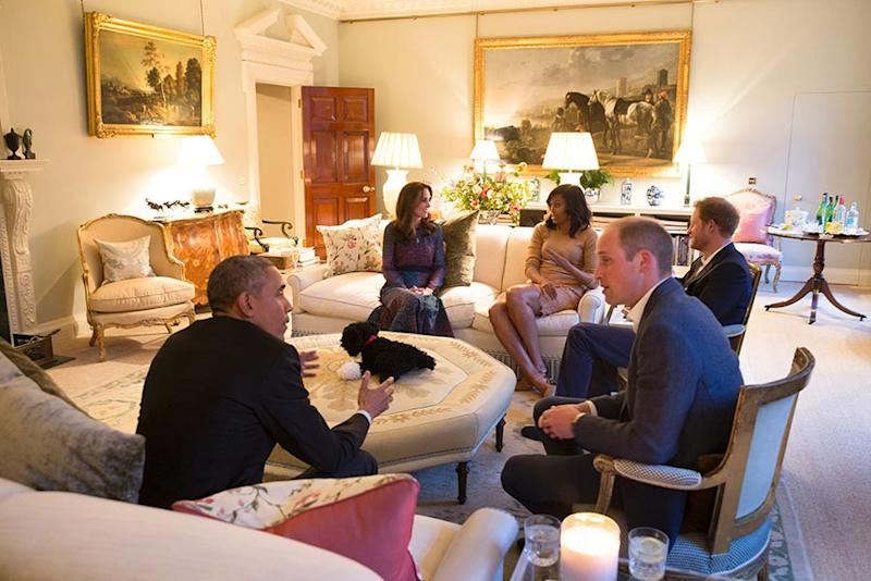 prince william kate middleton home living room again z