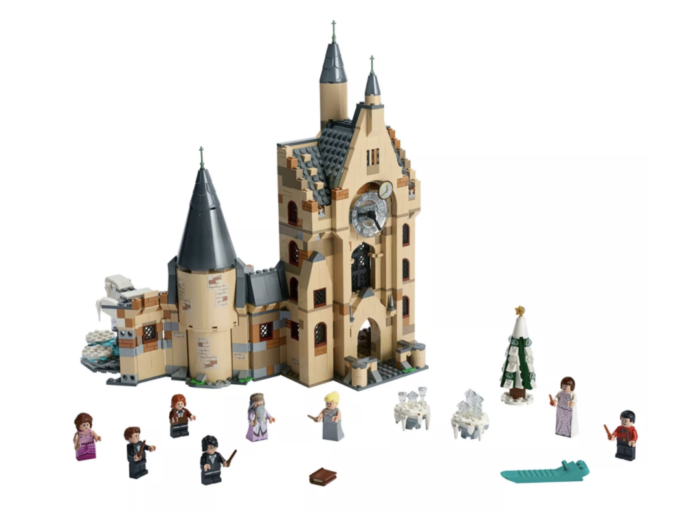 LEGO Harry Potter and The Goblet of Fire Hogwarts Clock Tower Castle (Credit: Target)