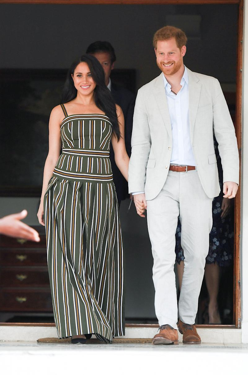 "The Duke and Duchess of Sussex are fans of ""Games of Thrones.""  (Photo: POOL New / reuters)"