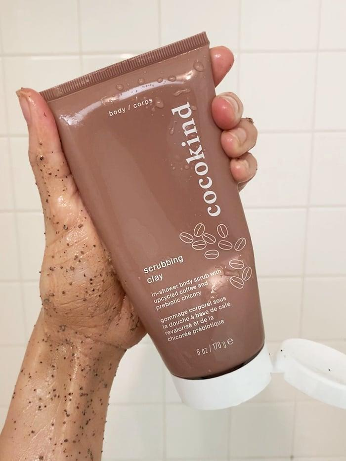 <p>The coffee grounds in the <span>Cocokind Scrubbing Clay</span> ($16) work to gently smooth and brighten the skin while getting rid of dead skin cells.</p>
