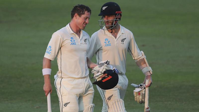 Henry Nicholls and Kane Williamson have set up NZ to dominate their final Test with Pakistan