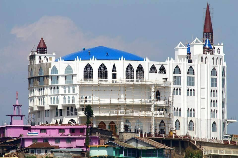Asia's largest church, Sumi Baptist Church, is in Zunheboto, Nagaland.